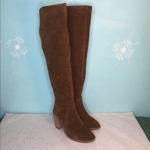 Vince Camuto Melaya Suede Over the Knee Boot - 9M
